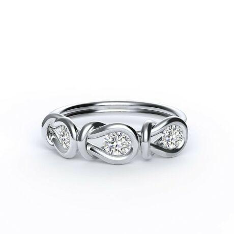 Encordia ™ Eternity Gyűrű