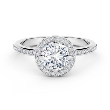 Forevermark Setting ™ Circlet Pavé Gyűrű