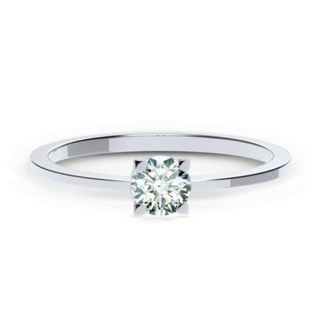 Forevermark Zen Szoliter Gyűrű